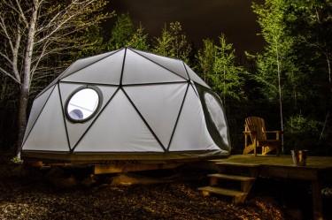 Ridgeback Lodge Glamping Domes And Cozy Log Cabins